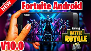 Fortnite Android Season 10 V10.0 Mod APK Working In Incompatible Devices GPU/VPN Error Fixed |