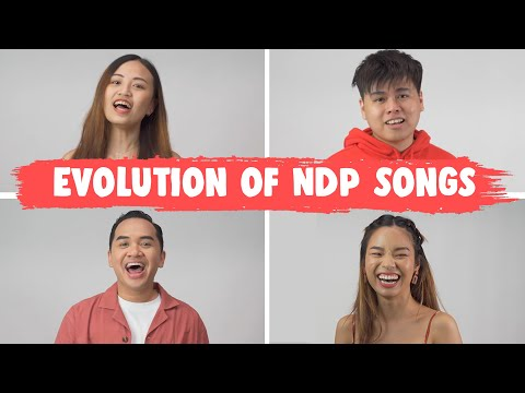 Evolution of Singapore National Day Songs Medley (1986-2021)