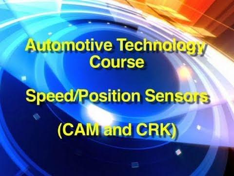 Automotive Technology Course | Speed/Position Sensor Testing (CAM/CRK)