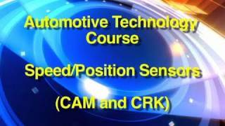 Automotive Technology Course | Speed/Position Sensor Testing (CAM/CRK)