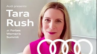homepage tile video photo for Audi Presents: CMO Tara Rush at Forbes Women's Summit