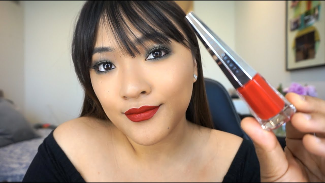 FENTY BEAUTY - Uncensored | Red Lip Look | Asian Features ✌️
