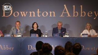 Downton Abbey Press Conference - Hugh Bonneville, Elizabeth McGovern, Jim Carter