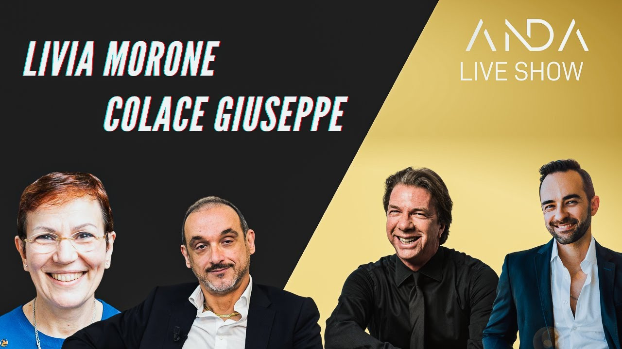 ANDA Live Show con Ospiti: Colace Giuseppe & Livia Morone