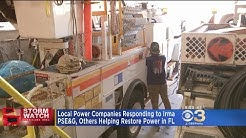 Local Power Companies Helping Restore Electric, Gas In Florida
