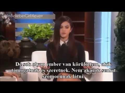 Selena Gomez - Ellen DeGeneres (2014.10.13.) (MAGYAR felirattal)