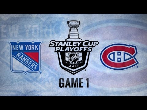 Lundqvist, Rangers blank Habs to win Game 1, 2-0