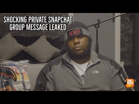 Shocking private snapchat group chat about black men leaked!!!