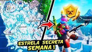ESTRELA SECRETA TEMPORADA 7 SEMANA 1 - Fortnite Battle Royale