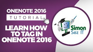Learn How to Use Tags with Microsoft OneNote 2016