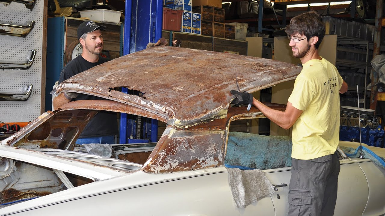 Rusty Roof Replacement 1968 Cougar Youtube