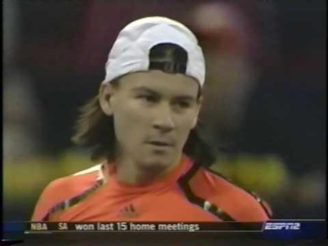 Coria vs Federer 2005 (Shanghai Masters RR)