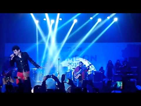 Euphoria live at PAYTM game on 2015
