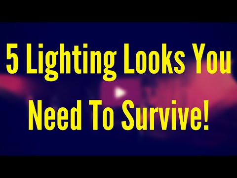 5 Lighting Looks You Need When the Show Runs off It's Tracks