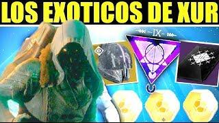 Destiny 2 - Localizacion de Xur con Engrama Isocronal y Tres Monedas!