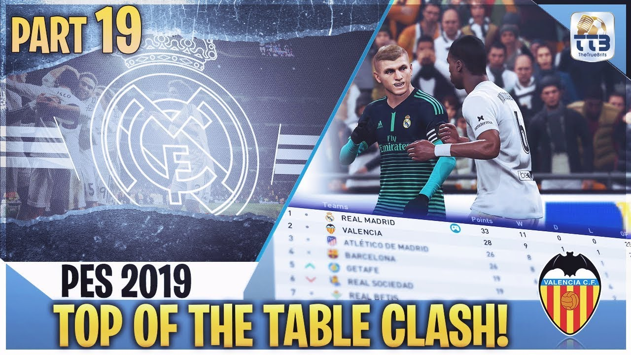 TTB] PES 2019 - TOP OF THE TABLE CLASH! - Real Madrid Master