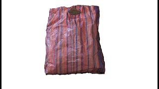 Best use of waste plastic | reuse plastic bag |zaha diy