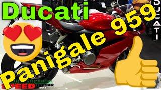 Ducati 959 Panigale Обзор мотоцикла