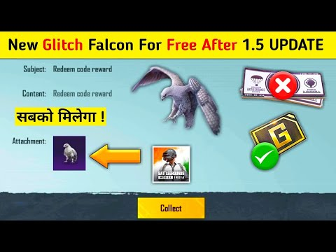 Download Biggest Glitch Free Falcon 😱 | How to get Free Falcon in Bgmi | Bgmi me Free me Falcon Kaise Le