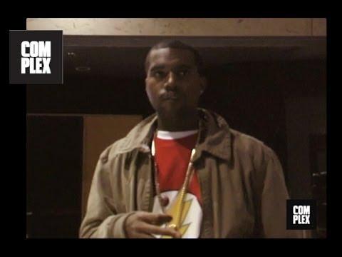 "Kanye West ""Never Let Me Down"" Studio Session | Complex"