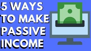 5 Ways to Build Passive Income (With Your Computer)
