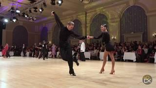 Troels Bager and Ina Jeliazkova (USA) - Disney 2018 - Pro Latin | QF Chacha
