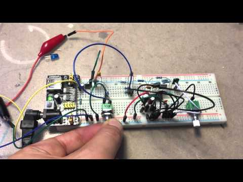 PT2399 Echo Circuit Test