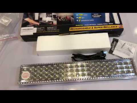 Light Bar By Bell And Howell 60 Led 16 5 Quot Rechargeable