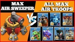 CAN LAVA HOUNDS SURVIVE THIS!?! | Clash of clans | AIR MAZE TROLL!!!
