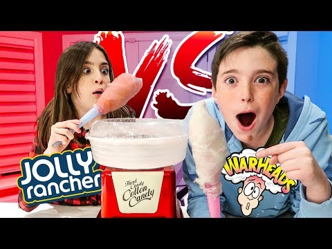 COTTON CANDY CHALLENGE!!