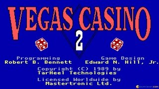 Vegas Casino 2 gameplay (PC Game, 1989)