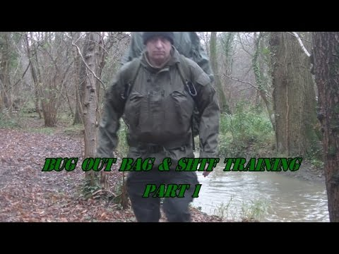 BUG OUT BAG & SHTF TRAINING PART 1