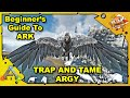How to Get Started in ARK - A Beginners Guide - How To Tame An Argy - Ark: Survival Evolved [S4E13]
