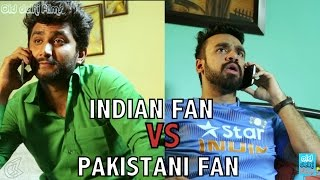 Indian Cricket Fan VS Pakistani Cricket Fan | Mauka Mauka | World Cup T20 2016 | #IndVSPak  (ODF)