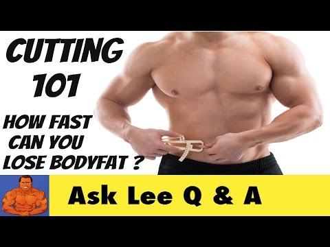 How Fast Can You Cut Body Fat