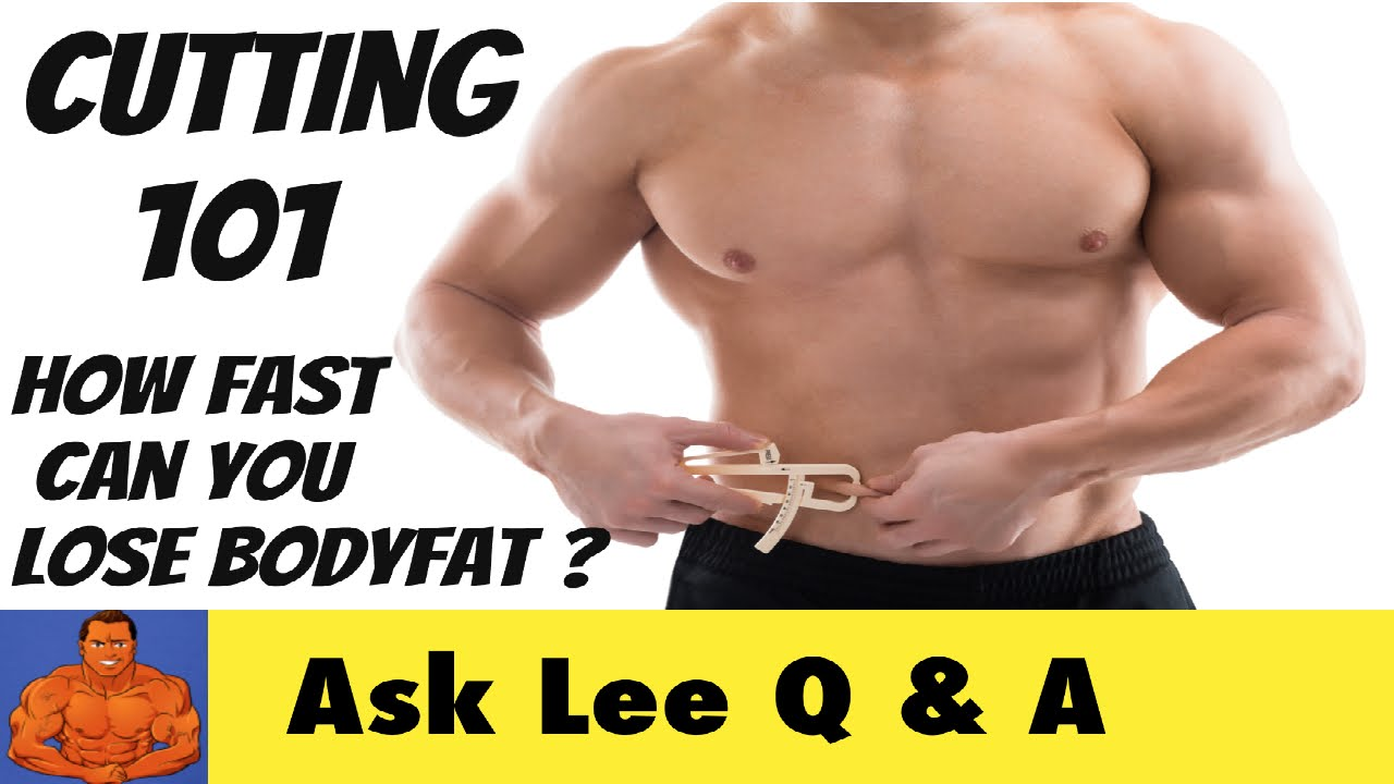 how many percent body fat can you lose in a month