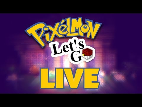 Pixelmon: Let's Go Stream - Catching and Chatting!
