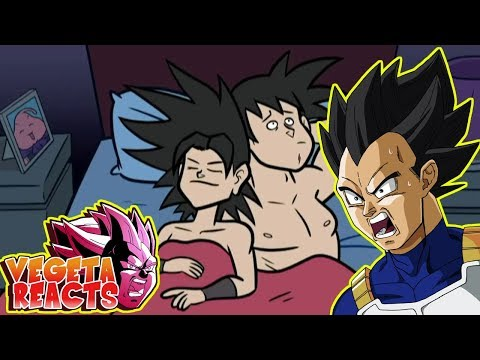 Vegeta Reacts To Dragon Ball Super Parody Caulifla VS Goku The Player