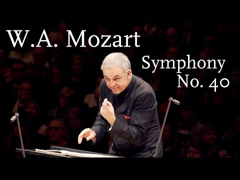 WA Mozart: Symphony No 40, K 550 HD1440p