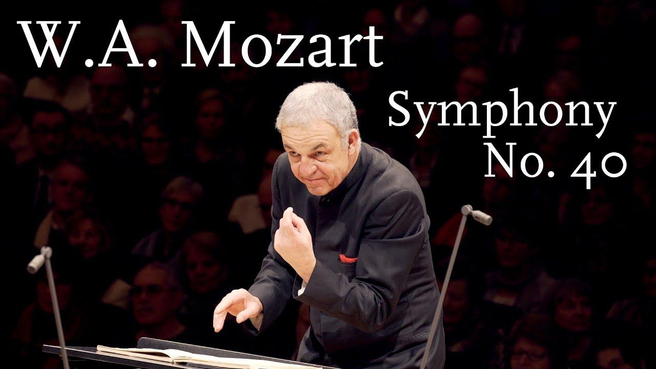 W.A. Mozart: Symphony No. 40, K. 550 (HD/1440p) - YouTube