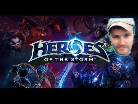 видео: heroes of the storm БАТЯ ГЛЯНУЛ