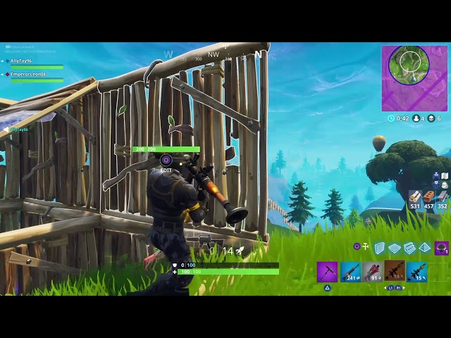 Old School Fornite Gameplay