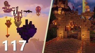 """Wyspa Wymiaru """"Betwen"""", oraz Bramy Raju! - SnapCraft III - [117] (Minecraft 1.14 Survival)"""