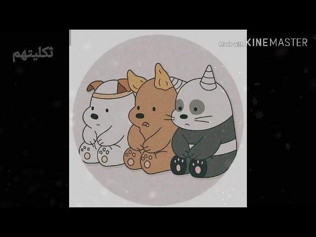 صور الدببه الثلاثه كيوت تصميمي لايك وشتراك Youtube