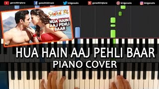 Hua Hain Aaj Pehli Baar Sanam Re|Pulkit,Yami|Hindi Song|Piano Chords Tutorial Instrumental By Ganesh