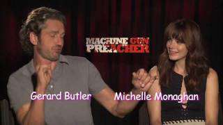 "Gerard Butler ~ Oscar Hopeful! ""Machine Gun Preacher"" TIFF"