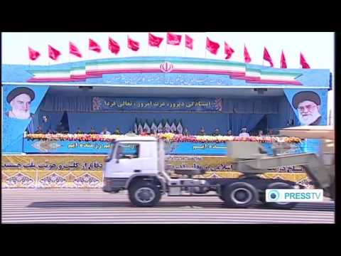 Press TV   Iran Sacred Defense Week 2014   Military Assets Segment 720p