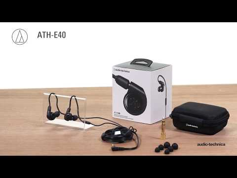 ATH-E40 Overview | Professional In-Ear Monitor Headphones