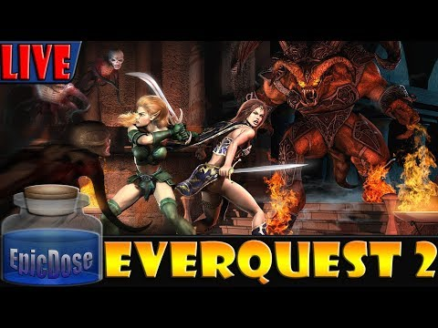 Everquest 2 – Fallen Gate Server – EQ2 – Relapse Raiding! 2018 Gameplay! Tuesday!