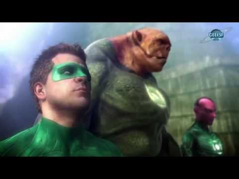 Green Lantern La révolte des Manhunters [PS3][1080p|60fps][FR] Long let